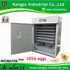 Les incubateurs pour des oeufs à couver retenant le poulet 1056 Eggs automatique reconnu par CE (KP-10)