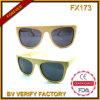 Fx173 vendem por atacado óculos de sol polarizados bambu da alta qualidade de China