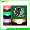 防水機密保護ライトを変更するカラーの100W RGB LEDのフラッドライト