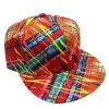 Casquette de baseball florale de mode de tissu avec le chapeau Sb15115 de Snapback