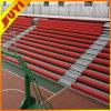 Banco fábrica telescópica de estar Sistema barato de plástico para sillas de baloncesto de los deportes Estadio Asientos telescópico Sistema de estar