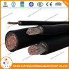 Кабель оболочки 2/0AWG CPE изоляции кабеля 2000V Epr Dlo Rhh/Rhw