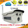 Câmera de correia fotorreceptora sem fio do IP da rede do IR 2.0 Megapixel Onvif WiFi