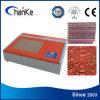 Kleine CO2 40W Laser-Stempel-Gravierfräsmaschine für Stempel