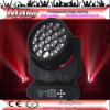 Nieuwe Products in 2014! De Ogen 19pcsx12W RGBW 4 van de bij in 1 Sharpy richten Bewegende Hoofd LEIDENE Lights/Zoom Bewegende HoofdLichten