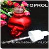 ToprolのChildproof帽子そして薄い点滴器が付いている涼しい30ml頭骨のガラスビン