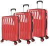 PPの物質的なジッパー様式のスーツケース
