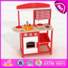 2015 fingir Kitchen Toy Play Kitchen Set, DIY Wooden Kitchen Furniture Toy Set, Hot Toys Kids Kitchen Play Set em Sale W10c143b