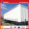 Stahlkasten-Gewebe-Vorhang-Seiten-halb Schlussteil für Supermarkt-Waren