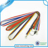 Polyester Rainbow Lanyard with Accessories Custom