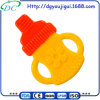 China Dongguan Factory Direct Wholesale Price High Quality Double Color BPA Free Silicone Baby Teether