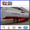 新式の3axles 42000Lのアルミ合金の石油タンカー