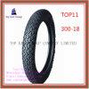 Lange Lebensdauer, Reifen des Qualität ISO-Nylonmotorrad-6pr mit 300-18
