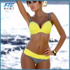 여자를 위한 다채로운 노란 형식 비키니