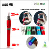 900mAh Ago Battery Dry Herb Ecigarette, Hot Selling Colorful Your Dry Herb Life를 가진 새로운 Launching Original Ago V6 Pen Vaporizer!
