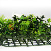 인공적인 정원 산울타리 잔디 담 인공적인 잎 담