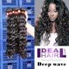 Hochwertige Nonprocessed tiefe Wellen-malaysisches Jungfrau-Haar (VM06003W)