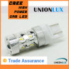 Luz alternativa do diodo emissor de luz do carro de T20 7443 50W 12V para o veículo