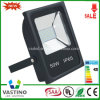 까만 Housing는 Aluminium Waterproof 50W LED Flood Light를 정지한다 Casting
