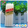 velas blancas comunes de la cera de parafina 23G con precio de fábrica