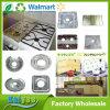 Runder oder quadratischer Aluminiumfolie-Brenner-Schutz und Gas-Matte