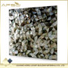 Baumaterialien Küche und Badezimmer Backsplash schwarze dreieckige Perlmuttshell-Mosaik-Fliesen für Wand-Dekoration