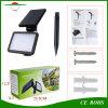 21屋外の照明太陽壁ランプLEDの芝生ランプ2200mAh 48 LED 300lm 3のモードの極度の明るいヤードランプの庭ライト