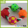 Vinyl-und Baumwolseil-Spielwaren-Haustier-Spielzeug