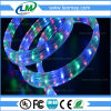 옥외 IP67 가벼운 고전압 편평한 LED 밧줄 빛