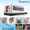 máquina de estaca galvanizada do laser da placa do aço de carbono do aço 500W inoxidável