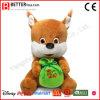 아이들 아이 아기 선물 견면 벨벳 박제 동물 다람쥐 장난감