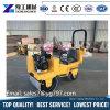Compacteur de rouleau de route de main de matériel de construction de routes mini avec l'engine d'essence