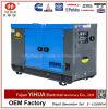 groupe électrogène 6-56kVA/5-45kw diesel silencieux électrique actionné par Yanmar Engine