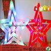 크리스마스 훈장을%s PVC 케이블 IP44 세륨 RoHS 명확한 LED 가벼운 끈
