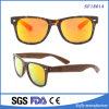Рамка Demi покрывая желтые солнечные очки объектива с виском Brown