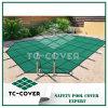 Зеленые крышки бассеина безопасности сетки