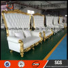 Legno solido che Wedding alto re posteriore Throne Sofa