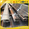 Stirbt Aluminiumprofil des strangpresßling-6063 T5 Aluminium flach