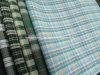 Tessuto variopinto tinto 100% dell'assegno del filo di cotone per le camice