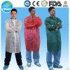 Manteaux de laboratoire jetables respirants, SBPP SMS Manteau de laboratoire microporeux pour salle blanche