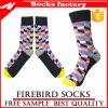 Baumwollfrauen-bunte normale Socken