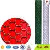 低価格および高品質の電流を通された六角形の金網