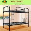 Frames pretos da cama de beliche do dobro do ferro de Rod (WB-BD06)