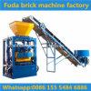 Halbautomatische Bewegungsschwingung-konkrete Ziegeleimaschine von China
