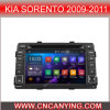 Zuivere GPS Car Player van Android 4.4.4 voor KIA Sorento 2009-2011 met Bluetooth A9 cpu 1g RAM 8g Inland Capatitive Touch Screen. (Advertentie-9589)