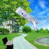 オールインワン統合されたLEDの太陽通りの庭のヤードライト40W