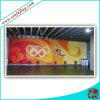 Drapeau fait sur commande de contexte de jeu olympique/drapeau de tissu