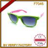 Auswechselbare Sonnenbrille-Treffen UV400&CE der Tempel-F7046/der Haken FDA