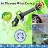 Soap Dispenser Powerful Jet Water Hose Spray Nozzle Gun (HT5078)