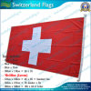 90X180cm 160GSM Spun Polyesterスイス連邦共和国Flag (NF05F09031)